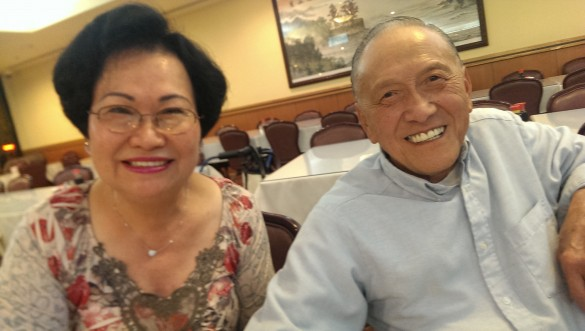 Retired butchers, Lisa Fong and Donald Fong