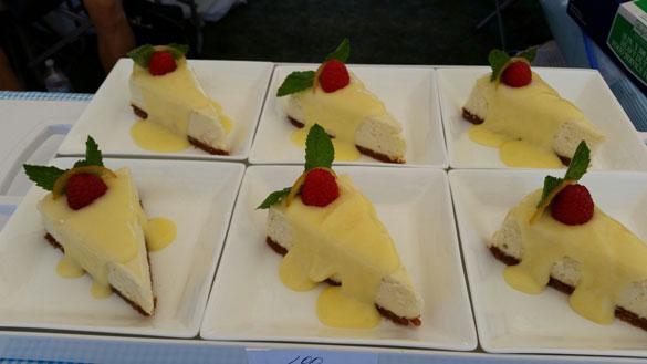 Myer Lemon Cheesecake