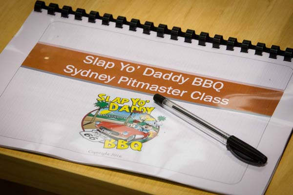 Harry Soo of Slap Yo Daddy BBQ Sydney Class #3 at BBQ Smokers, Yennora, Sydney, Australia, September 29, 2016. Photo by Gavin Leung/G-shot Photography