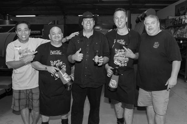 L to R; Harry, Joe, Steve, Paul, and Rohan Dimmock. Photo by Gavin Leung/G-shot Photography