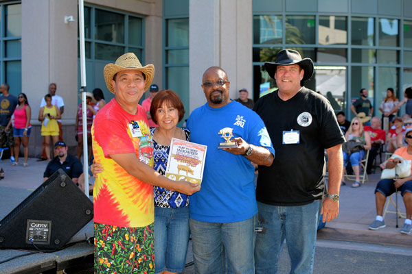 1st Place RIbs Royce Armstrong of I'll be Good To You BBQ
