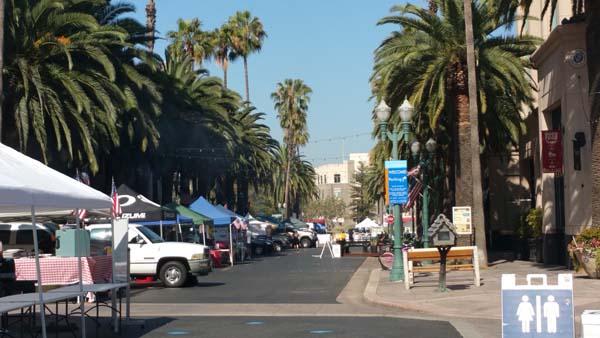 Center Street Promenade in Anaheim