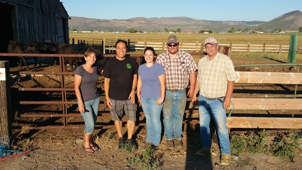 Laurie, Harry, Andrea, Jayson and Bill Askew of Askew Farms