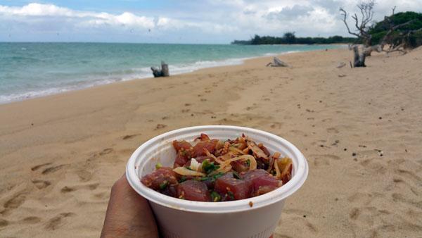 Poke on the Beach