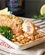 Barbecue Ritz Cracker Crusted Salmon