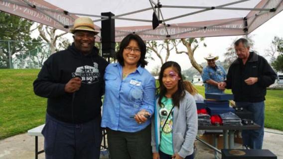 Butcher's Daughter winning CBBQA Dessert Team of the Year