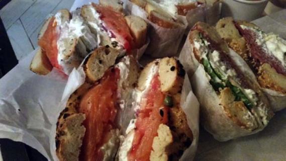 Black Seed bagels in New York