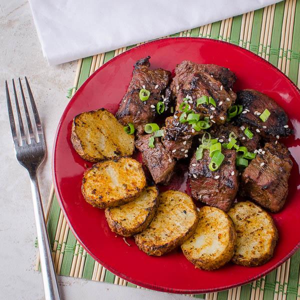 Grilled Teriyaki Miso Beef Shortrib Nuggets   Slap Yo ...