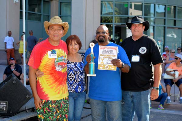 Grand Champion Royce Armstrong of I'll Be Good To You BBQ