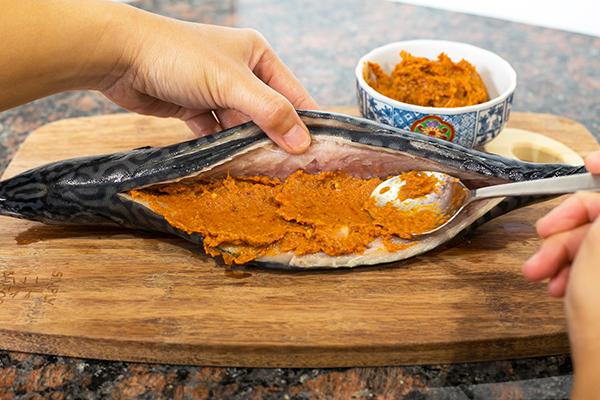 Grilled Mackerel Stuffed with Spicy Chili Paste | Slap Yo ...