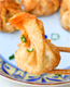 Grilled Shrimp Wonton w Sweet Spicy Thai Chili Sauce