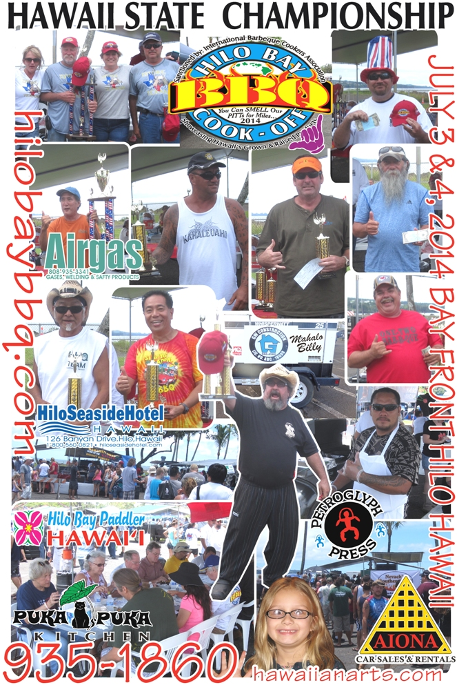 Hilo Cook-Off Poster 2013