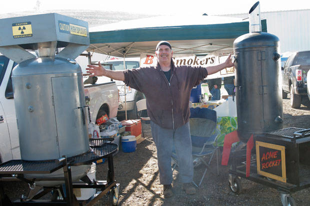 Pitmaster fabricator Dan Ronchetti of BC Smokers (Photo courtesy of BrendaMagee.com)