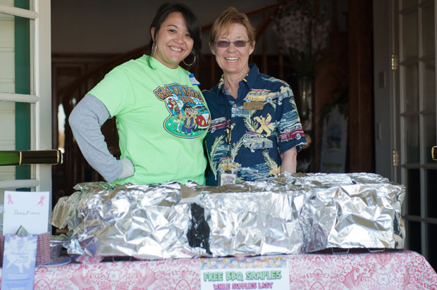We prepared 1,000+ free samples. Any donations benefited Michelle's Place (Photo courtesy of Brenda Magee.com)