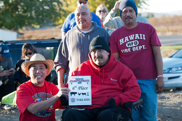 Alumni Ramon Rivera may have limited mobility but his passion and enthusiasm if off the charts (photo  courtesy of BrendaMagee.com)