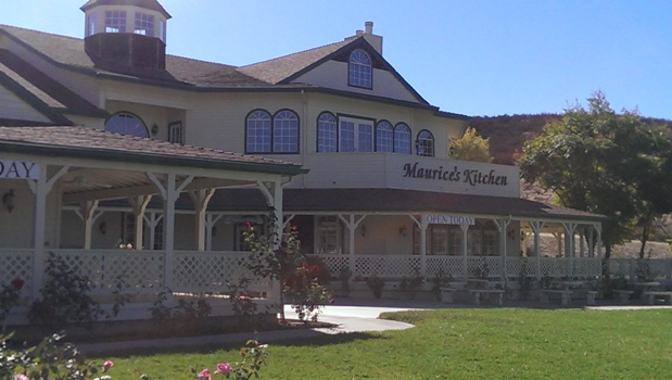 Winery restaurant is called Maurice's Kitchen