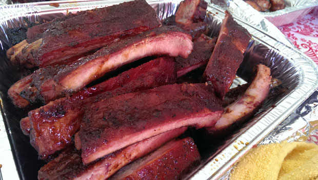 Barbecue Stl Louis Style Spareribs