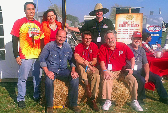 Handpicked judges for the 2012 Kingsford Invitational in Belle, Missouri, to judge the battle of the 8 World Champions