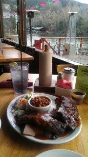 Combo plate at The County Line