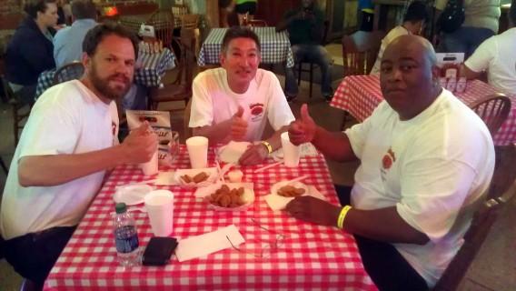 Nels Peterson, Gregg Fujino, and Derrick Williams