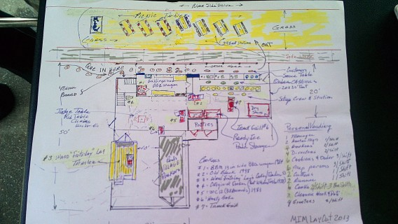 John's hand-drawn team plan