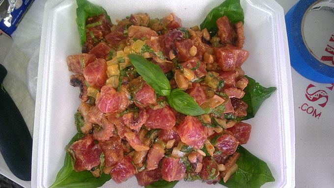 Harry's Hawaiian Poke - Seafood Salad
