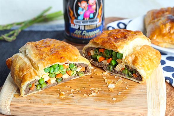 Vegetable Wellington with Vegan Mushroom Gravy | Slap Yo' Daddy BBQ